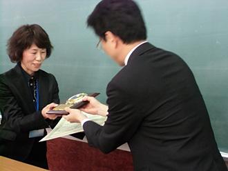 数検グランプリ 金賞受賞の様子