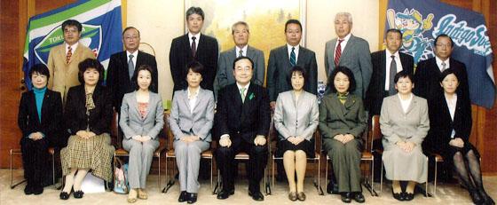 徳島県知事より表彰